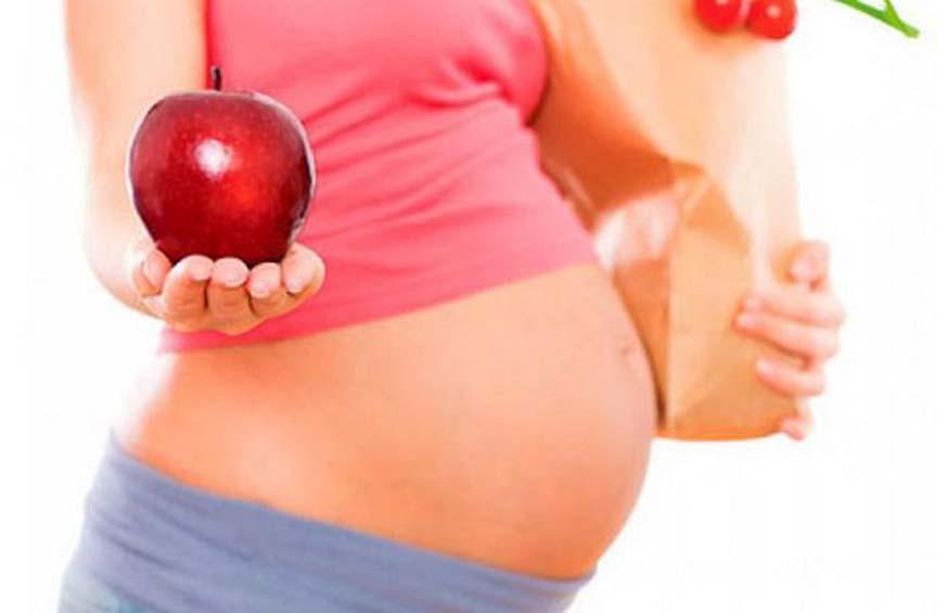 Cuida tu peso durante el embarazo